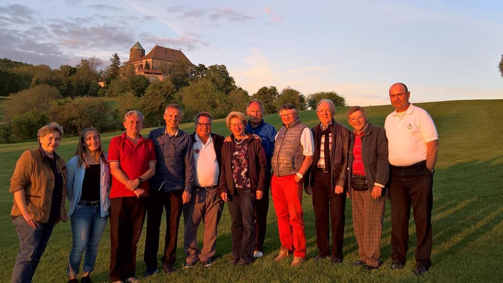 Besuch aus dem Partnerclub Golf du Coiroux in Aubazine, Frankreich