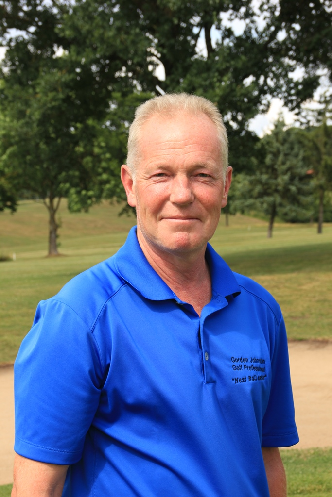 Golf Professional Gordon Johnston