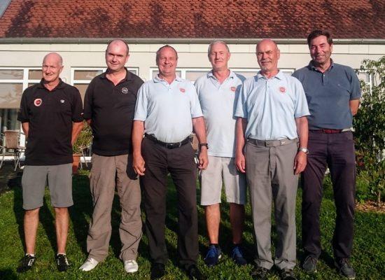v.l.n.r. Jürgen Geisselbrecht, Kurt Betscher, Robert Ehalt, Dieter Bartelmes, Klaus-Dieter Weinstein und Heinrich Buckel