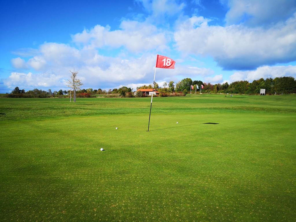 Grün 18 Golfclub Ansbach Colmberg